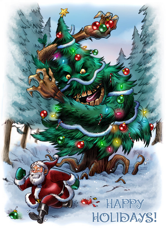Christmas Treant